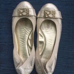 Dora Coach Ballet Flats.Sz 7